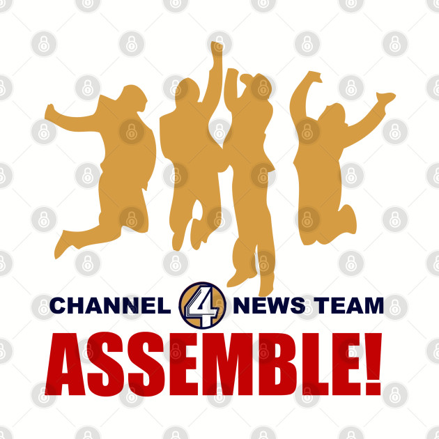 Channel 4 News Team Assemble