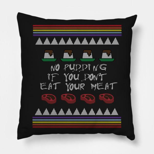 Pink Floyd Xmas Sweater Ugly Christmas Sweater Pillow Teepublic