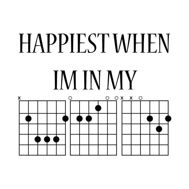 Guitar Chords, Happiest In My Bed