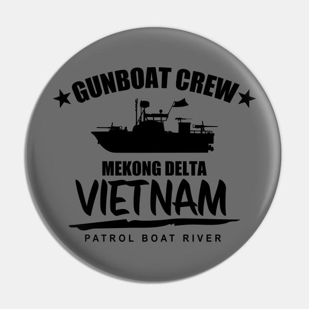 Gunboat Crew Mekong Delta Vietnam (subdued)