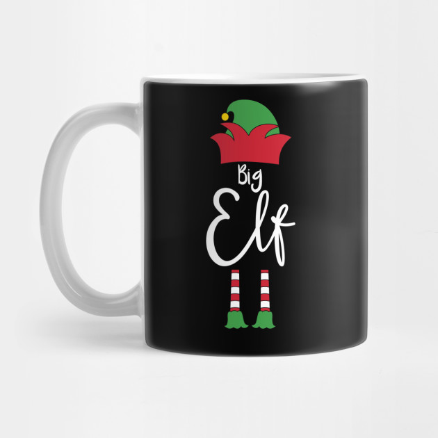 Matching Christmas Elf Family Big Elf Mug