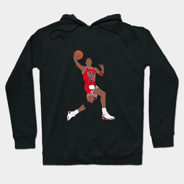 cb9dfeb5293cbd Michael Jordan Dunk - Michael Jordan - Hoodie