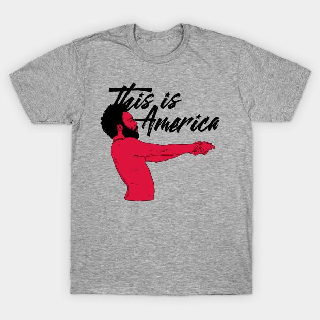 4ada558033a1 This is America White - Music - T-Shirt | TeePublic