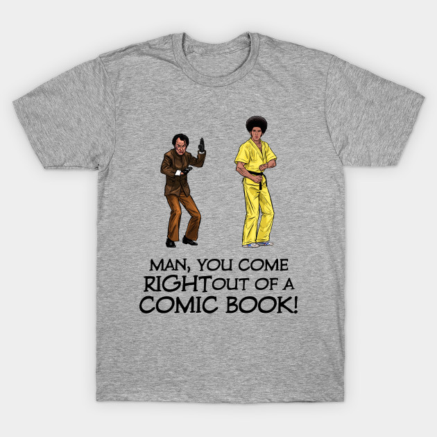Hans Island 1973 Ringer T-Shirt Enter The Dragon Bruce Lee Inspired