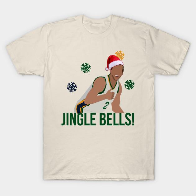 designer fashion 41cf2 c240d Joe Ingles 'Jingle Bells' Christmas Apparel - Utah Jazz NBA