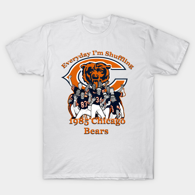 Chicago Bears Super Bowl Shuffle T-Shirt-TOZ