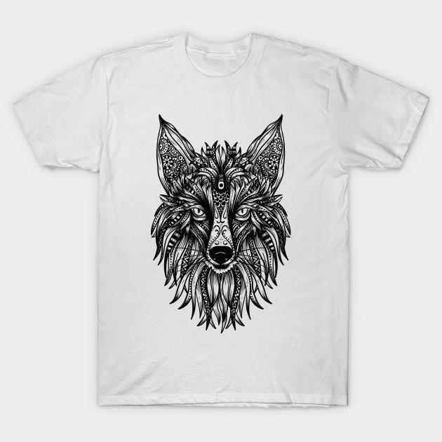 fd50965a TRIBAL FOX - Tribal Fox - T-Shirt | TeePublic