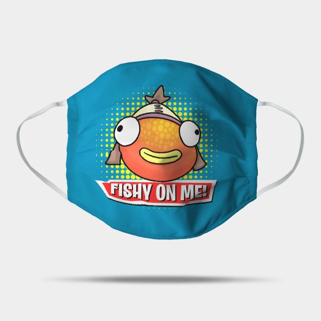 Fishy On Me Derpy Face Tiko Mask Teepublic