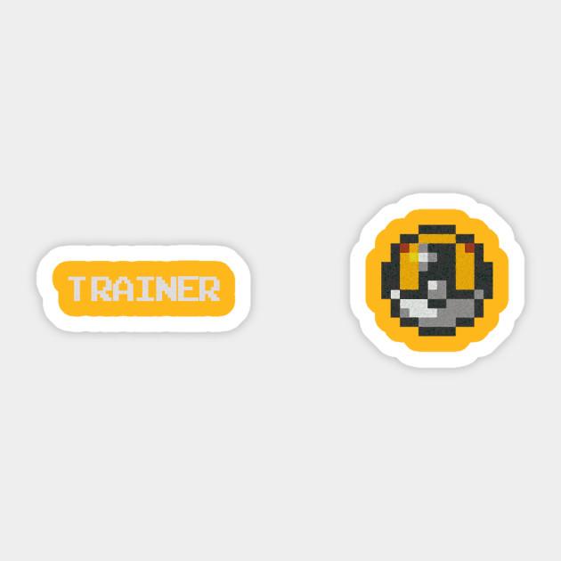 6891fd58 Pokemon Go Trainer: Ultraball Gold T-Shirt - Pokemon Go - Sticker ...