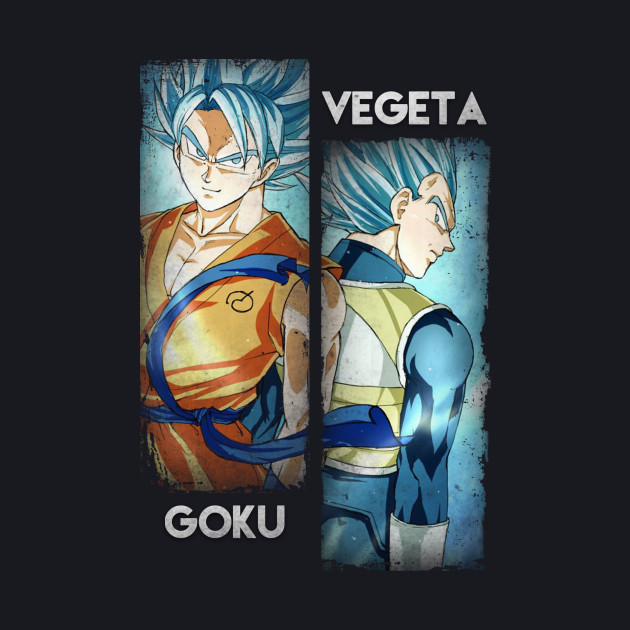 Super Saiyan Gods - Goku  & Vegeta
