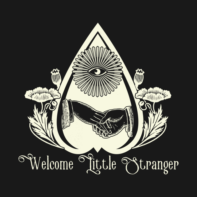 Welcome Little Stranger Poppies and Planchette
