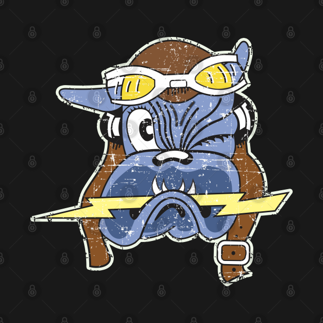61st Fighter Squadron - Grunge Style