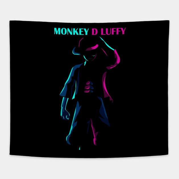Monkey D Luffy Lineart Style