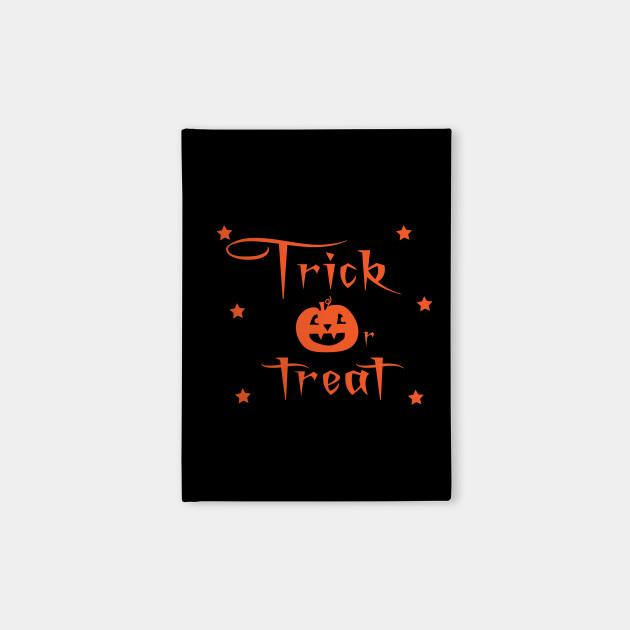 Trick Or Treat Halloween in Orange