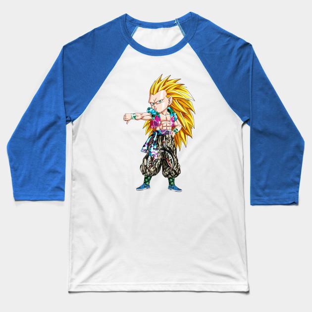 af70a4df Gotenks SSJ3 x Bape - Dragon Ball - Baseball T-Shirt | TeePublic