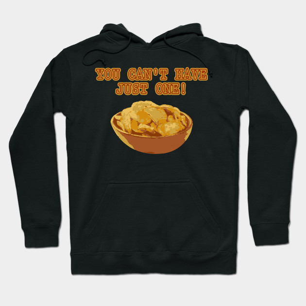 Funny National Potato Chips Day graphic Hoodie