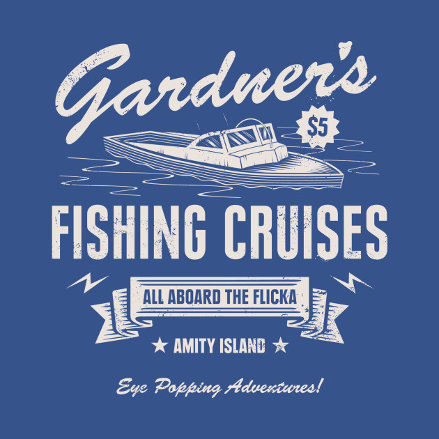 Gardner Fishing Cruises T-Shirt