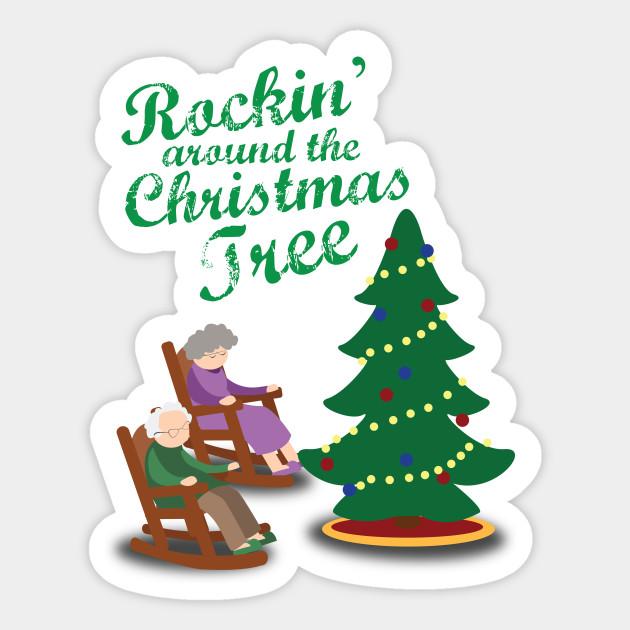 Rocking Around the Christmas Tree Chair - Christmas ...