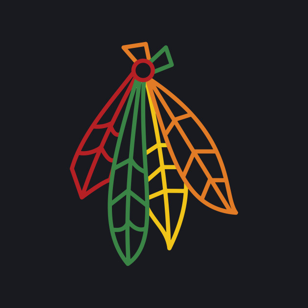 Blackhawks Feathers