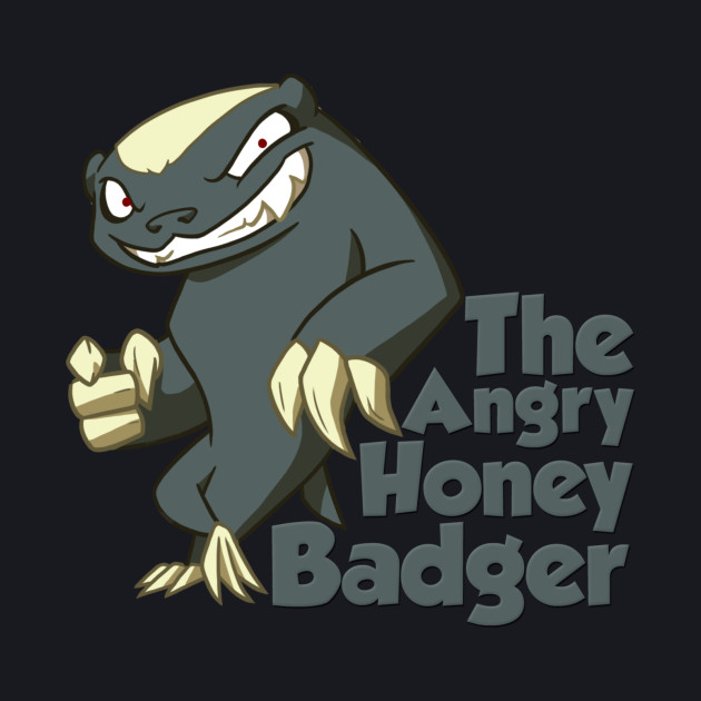 The Angry Honey Badger Classic Tee