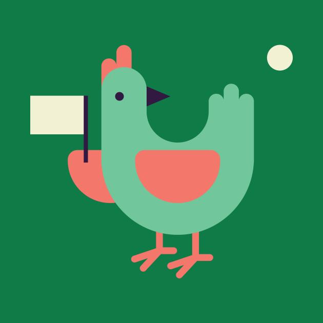 Release the chicken