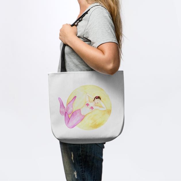 Starfish Mermaid - MerMay - Watercolour