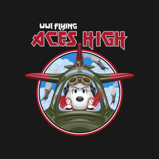 WWI Flying Ace t-shirts