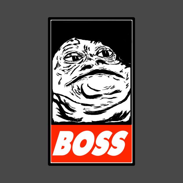 """Jabba The Hutt """"BOSS"""" - Jabba The Hutt - T-Shirt"""
