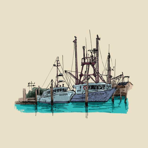 Montauk Fishing Boats