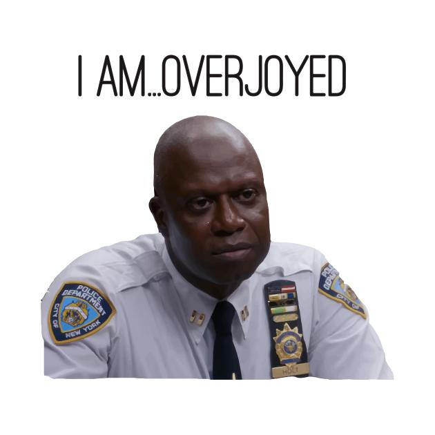 Captain Raymond Holt Emotions