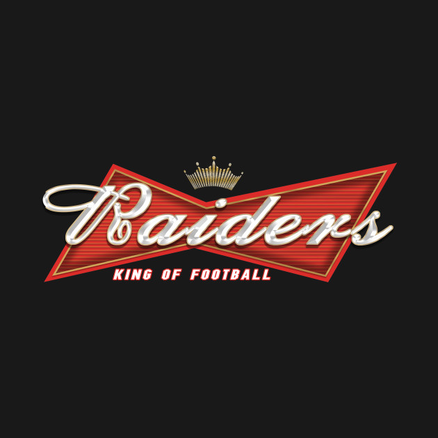 Oakland Raiders - King of Football - Budweiser