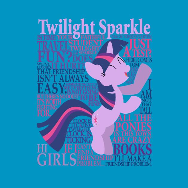 Many Words of Twilight Sparkle