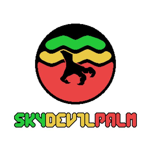 Skydevilpalm Emblem (Rasta)