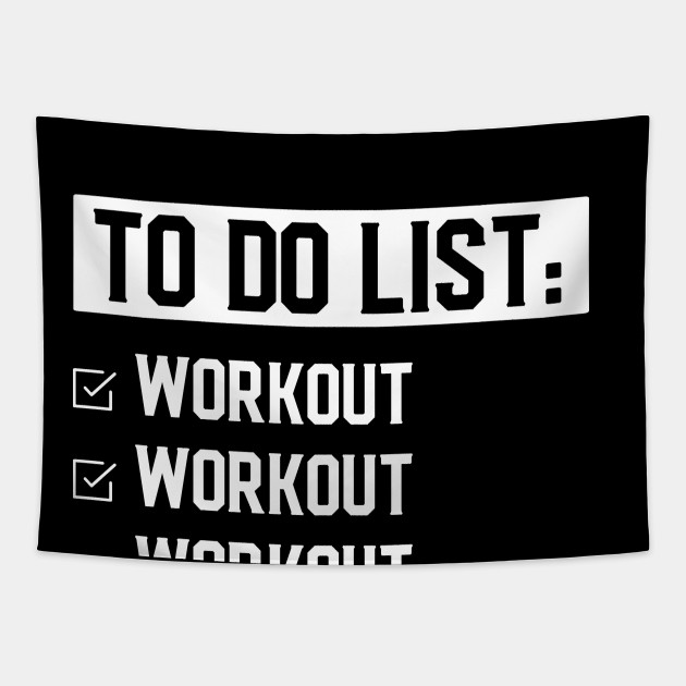 Funny Fitness Workout Motivation Fitness Motivation Quotes Tapestry Teepublic