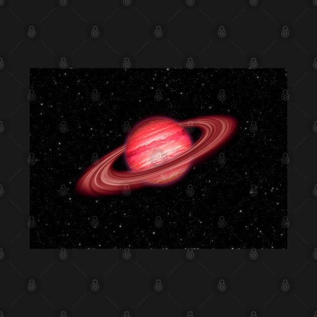 Red Jupiter Planet