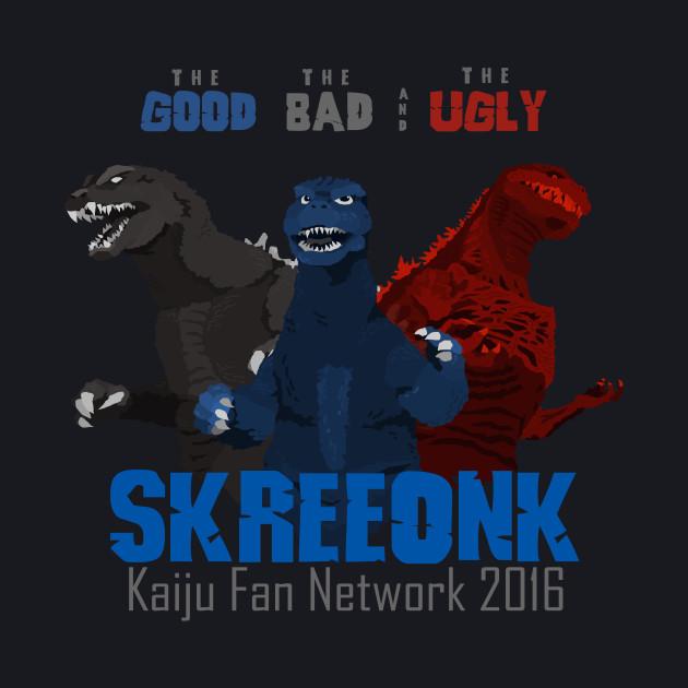 "Skreeonk.com's ""The Good, The Bad, & The Ugly"" 2016 BLACK"
