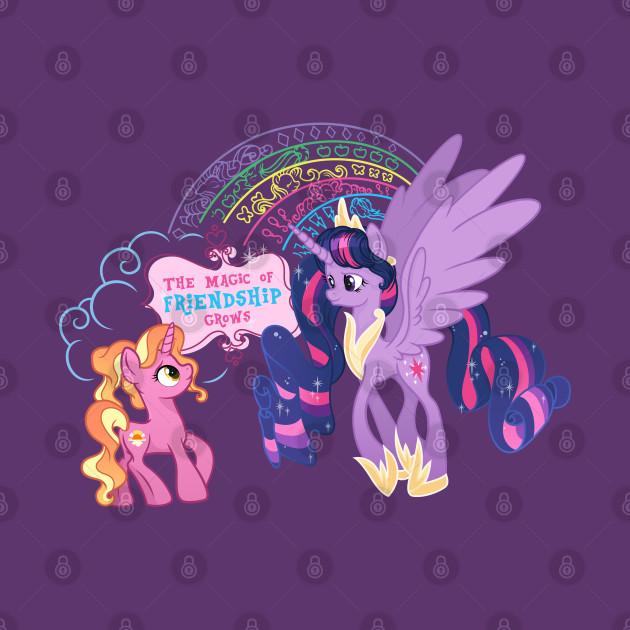 My Little Pony Finale Twilight & Luster Dawn