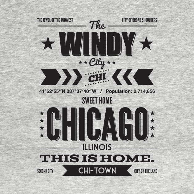 Chicago Typography Shirt
