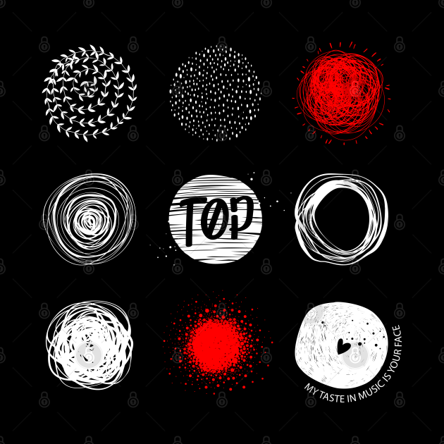 Twenty One Pilots - TOP - Blurryface - My taste in music is your face