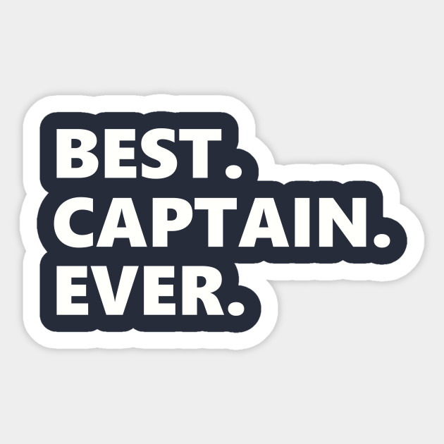 Captain Shirt Nautical T Shirt Boating TShirt Anchor T-Shirt Sailing Gifts For Him Father's Day Gift Boat Sailor Best Captain Sticker