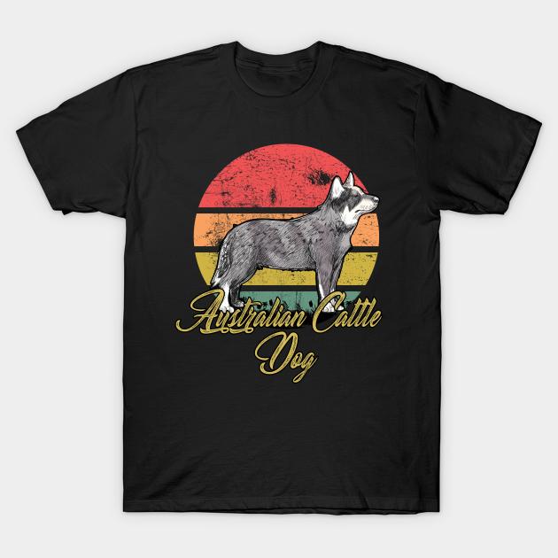 I love my Australian cattle dog T-shirt cattle dog I love my dog Animal lovers Dog love dog lover shirts dog herder Cattle dog shirt