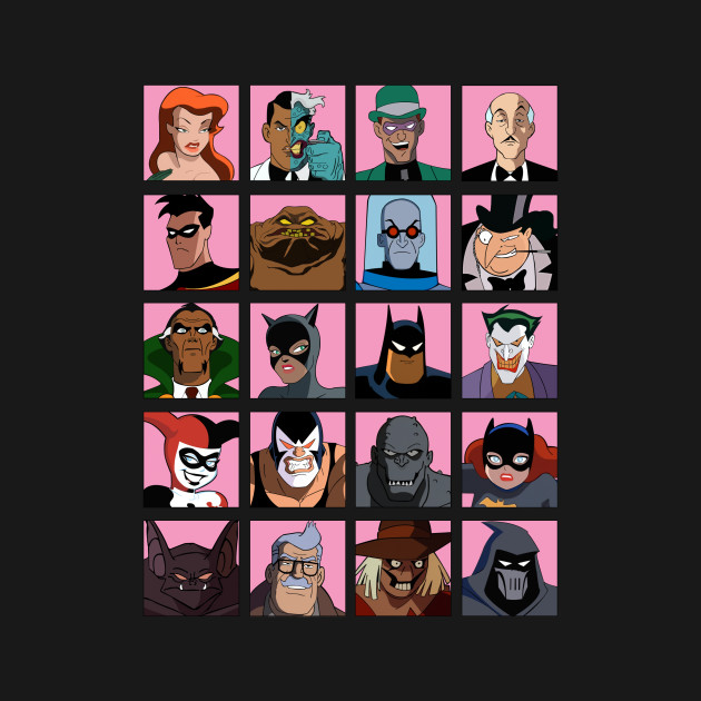 batman the animated series wiki villains