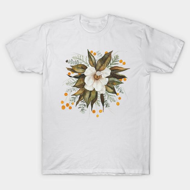 Magnolia Bouquet Magnolias T Shirt Teepublic