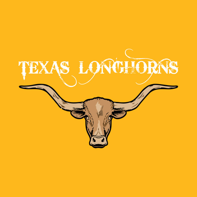 Texas Longhorns Design Art for Texas Lovers Gift - Texas Longhorn ...
