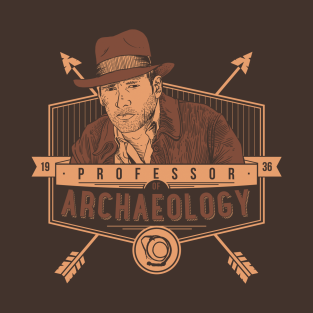 Professor of Archaeology t-shirts