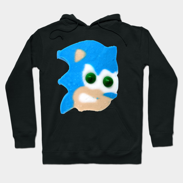 Sonic The Hedgehog Ice Cream Head Sonic Hoodie Teepublic
