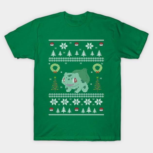 Pokemon Christmas Sweater.Ugly Christmas Sweater Pokemon Starter