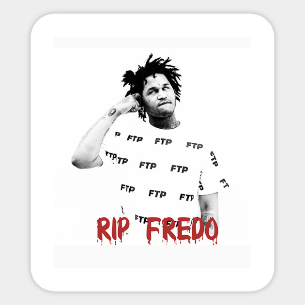 Fredo santana x next level sticker