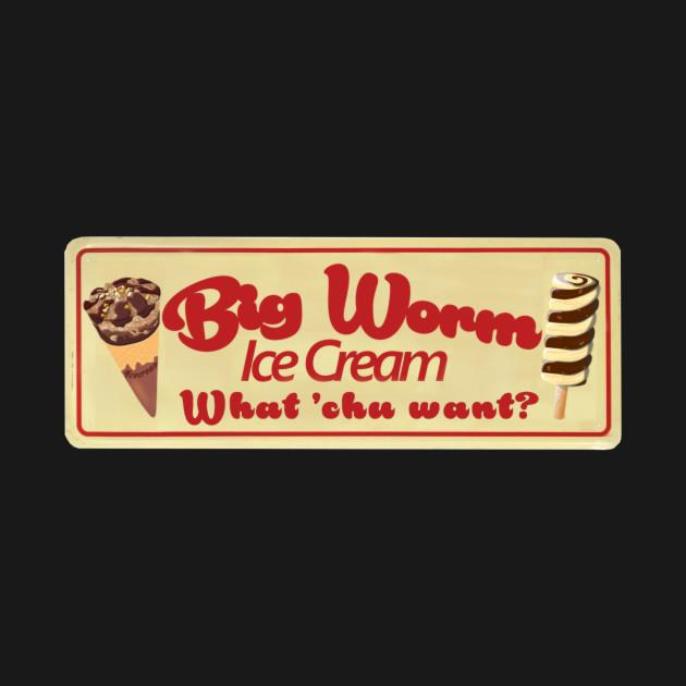 Big Worm Ice Cream