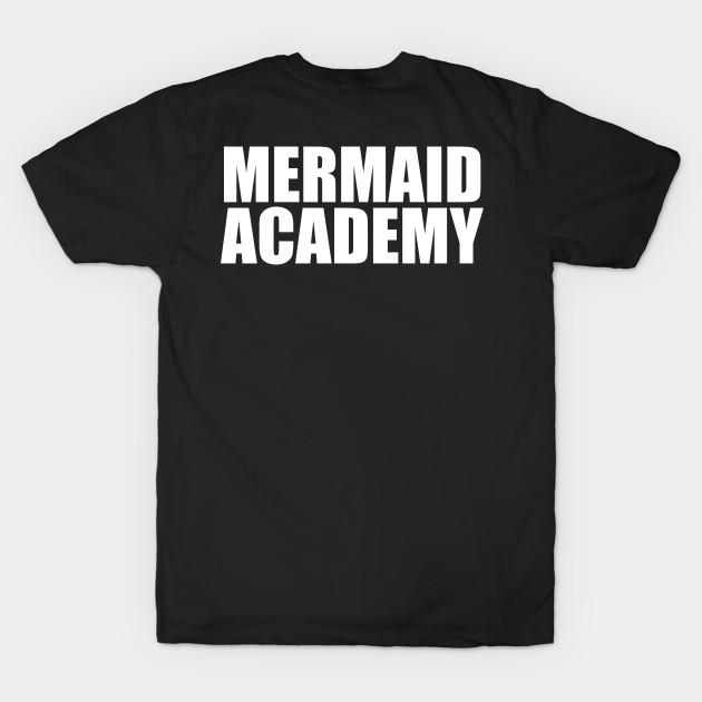d2f46cf3a7adb Mermaid academy sweatshirt gray crewneck for womens girls jumper funny  saying fashion tumblr